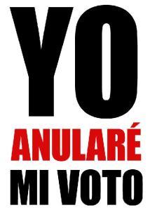 anular voto